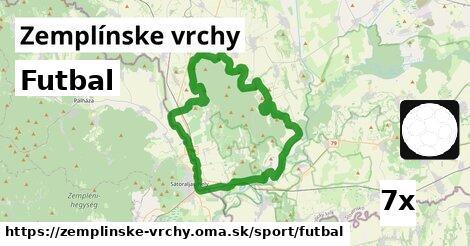 ilustračný obrázok k Futbal, Zemplínske vrchy