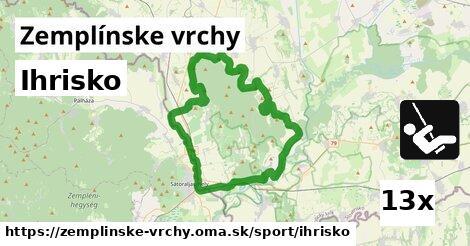 ilustračný obrázok k Ihrisko, Zemplínske vrchy