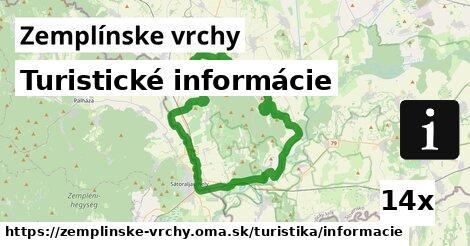 ilustračný obrázok k Turistické informácie, Zemplínske vrchy