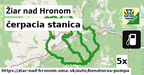 ilustračný obrázok k čerpacia stanica, Žiar nad Hronom