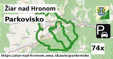 ilustračný obrázok k Parkovisko, Žiar nad Hronom