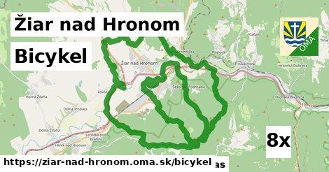 bicykel v Žiar nad Hronom