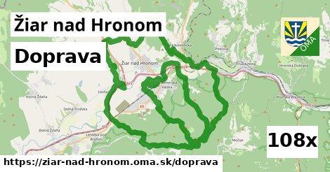 doprava v Žiar nad Hronom