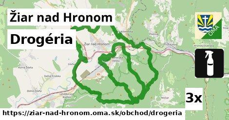 ilustračný obrázok k Drogéria, Žiar nad Hronom