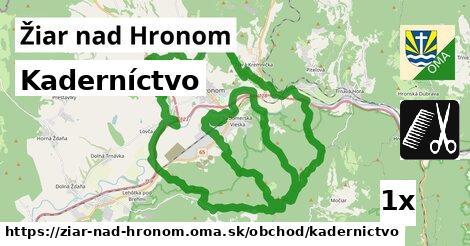 ilustračný obrázok k Kaderníctvo, Žiar nad Hronom