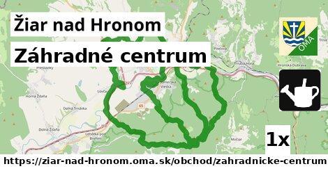 záhradné centrum v Žiar nad Hronom