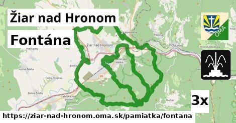 ilustračný obrázok k Fontána, Žiar nad Hronom