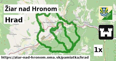 ilustračný obrázok k Hrad, Žiar nad Hronom