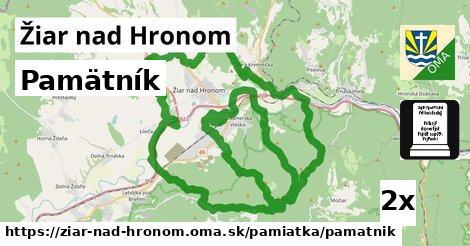 ilustračný obrázok k Pamätník, Žiar nad Hronom