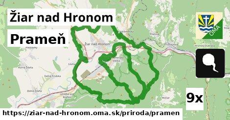 ilustračný obrázok k Prameň, Žiar nad Hronom