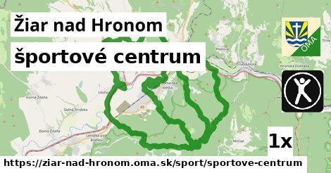 športové centrum, Žiar nad Hronom