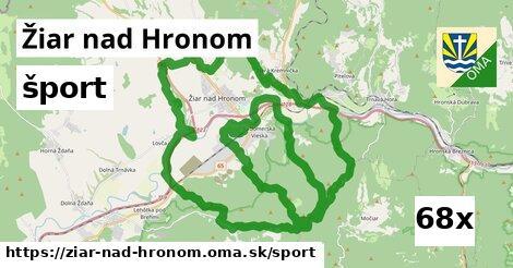 šport v Žiar nad Hronom