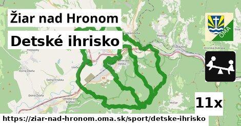 ilustračný obrázok k Detské ihrisko, Žiar nad Hronom