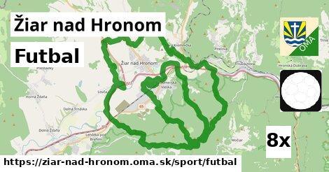 ilustračný obrázok k Futbal, Žiar nad Hronom