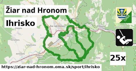 ihrisko v Žiar nad Hronom