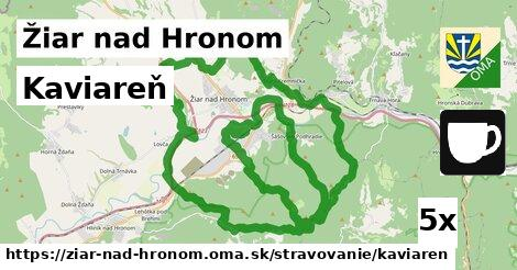 ilustračný obrázok k Kaviareň, Žiar nad Hronom