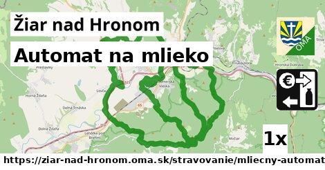 ilustračný obrázok k Automat na mlieko, Žiar nad Hronom