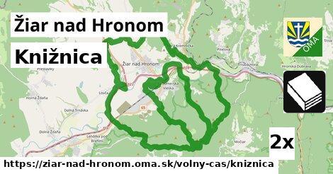 ilustračný obrázok k Knižnica, Žiar nad Hronom
