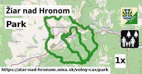 ilustračný obrázok k Park, Žiar nad Hronom