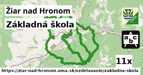 ilustračný obrázok k Základná škola, Žiar nad Hronom