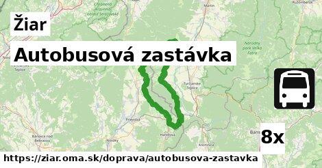 ilustračný obrázok k Autobusová zastávka, Žiar