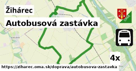 ilustračný obrázok k Autobusová zastávka, Žihárec