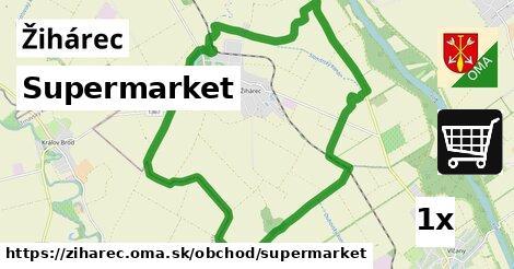 ilustračný obrázok k Supermarket, Žihárec