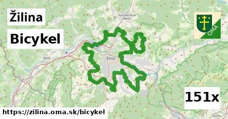 bicykel v Žilina