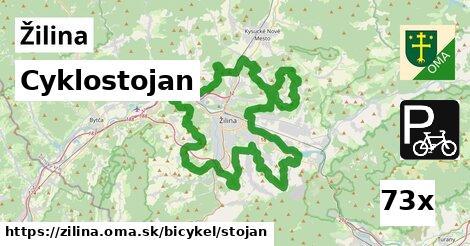 cyklostojan v Žilina