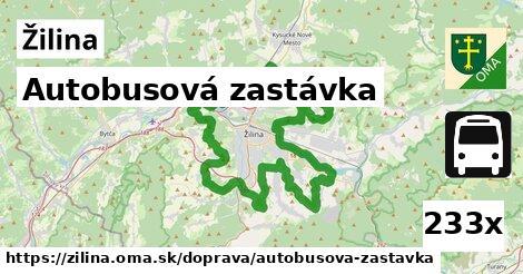autobusová zastávka v Žilina