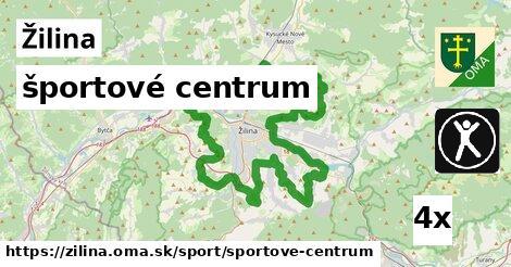 športové centrum, Žilina