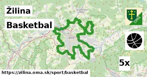ilustračný obrázok k Basketbal, Žilina