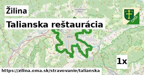 Talianska reštaurácia, Žilina
