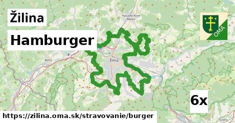 hamburger v Žilina