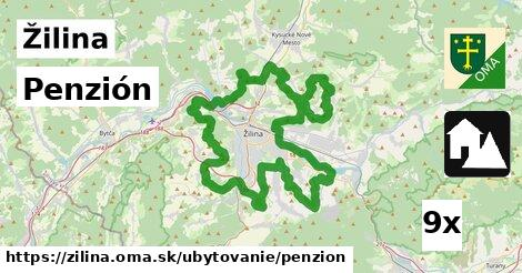 Penzión, Žilina