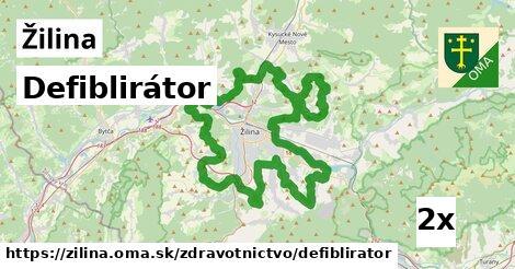 Defiblirátor, Žilina