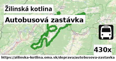 ilustračný obrázok k Autobusová zastávka, Žilinská kotlina