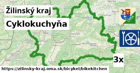 cyklokuchyňa v Žilinský kraj