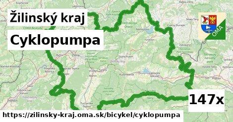 ilustračný obrázok k Cyklopumpa, Žilinský kraj