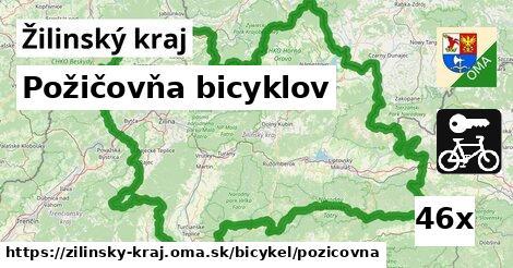 ilustračný obrázok k Požičovňa bicyklov, Žilinský kraj