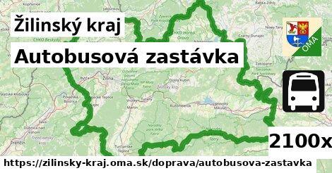 autobusová zastávka v Žilinský kraj