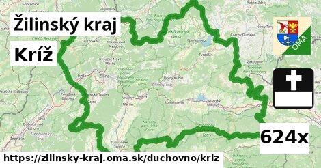 ilustračný obrázok k Kríž, Žilinský kraj