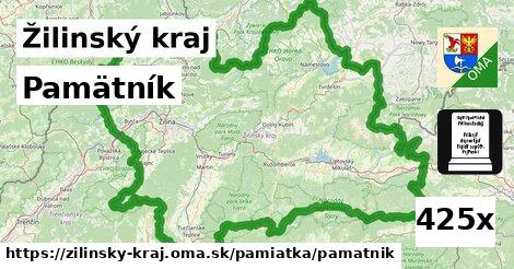 ilustračný obrázok k Pamätník, Žilinský kraj