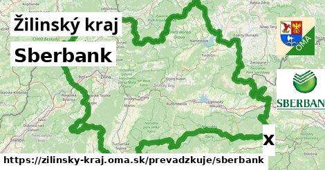 ilustračný obrázok k Sberbank, Žilinský kraj