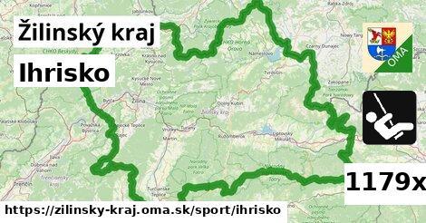 ihrisko v Žilinský kraj