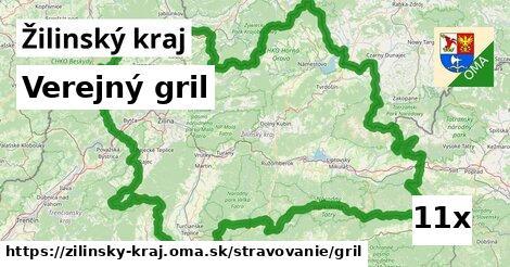 ilustračný obrázok k Verejný gril, Žilinský kraj