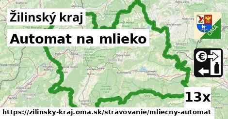 ilustračný obrázok k Automat na mlieko, Žilinský kraj