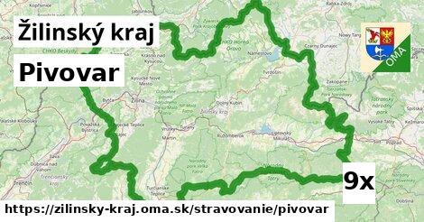 ilustračný obrázok k Pivovar, Žilinský kraj