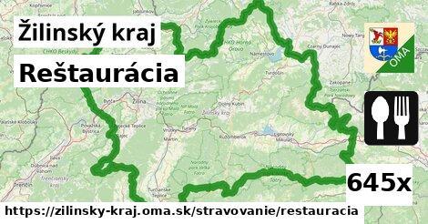 ilustračný obrázok k Reštaurácia, Žilinský kraj