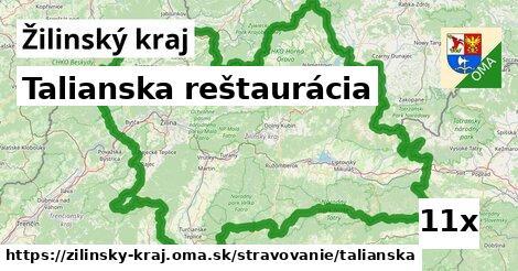 talianska reštaurácia v Žilinský kraj